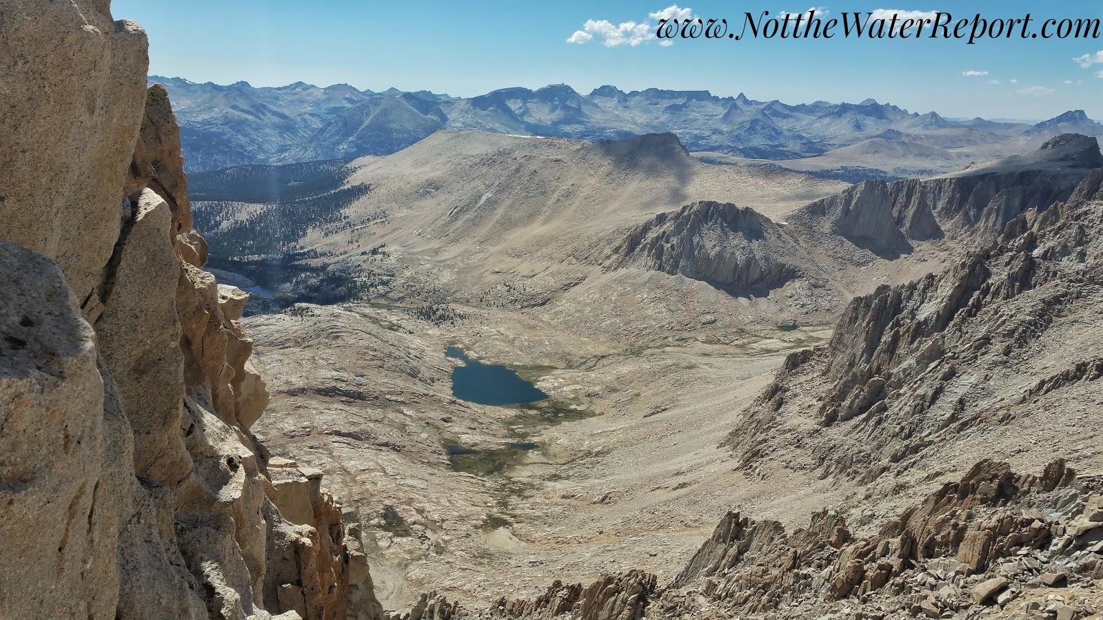 Mount Whitney and Guitar Lake.