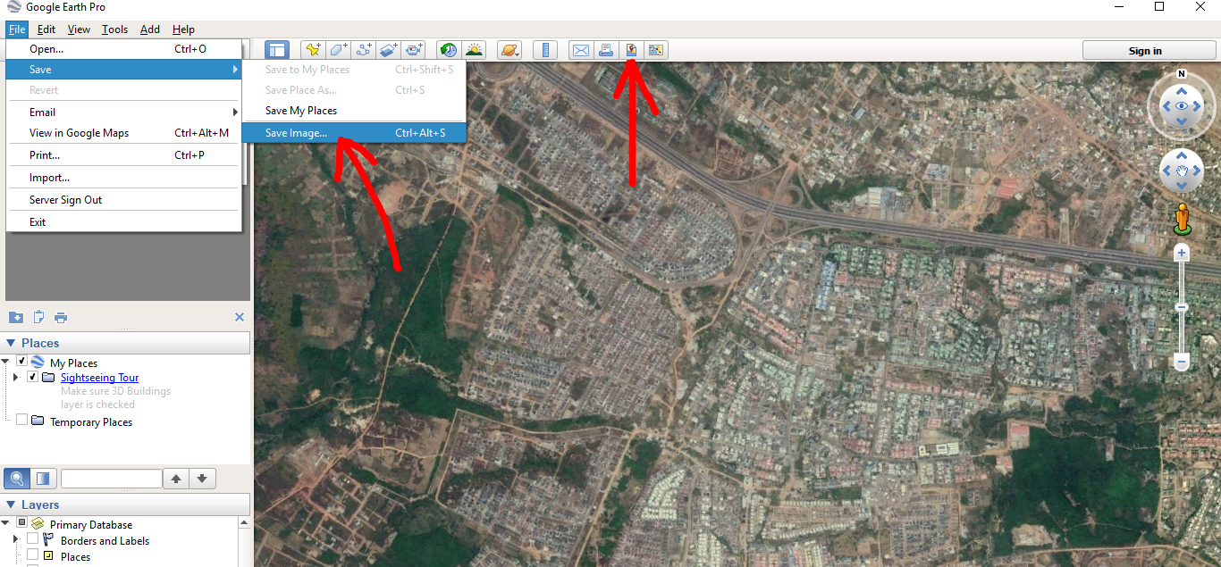 Geospatial Solutions Expert: How to save High Resolution Image