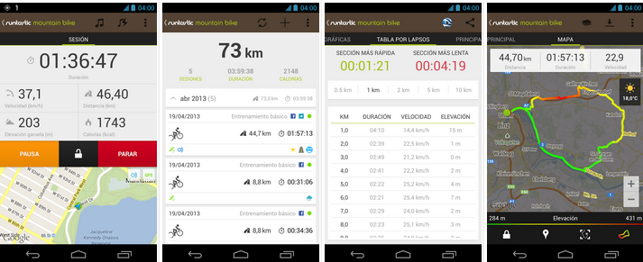 Runtastic Mountain Bike PRO v2.2.1 APK