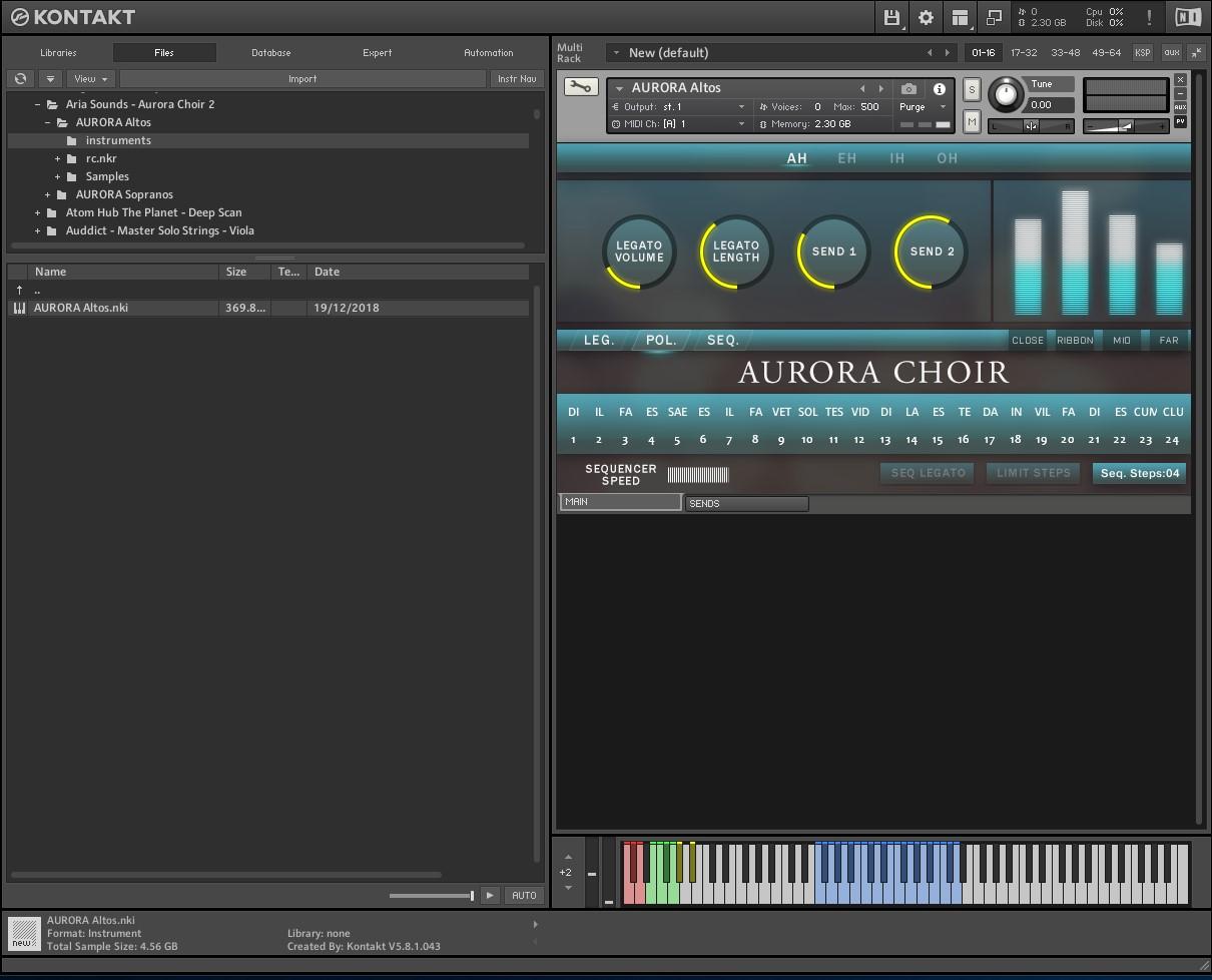 Aria Sounds – Aurora Choir V 2 (KONTAKT) - SoundsLanka - Free