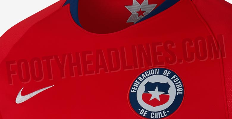 1e3c46c09 The Nike Chile 2018 home kit introduces an understated, smart look to  complement the rather garish away uniform.