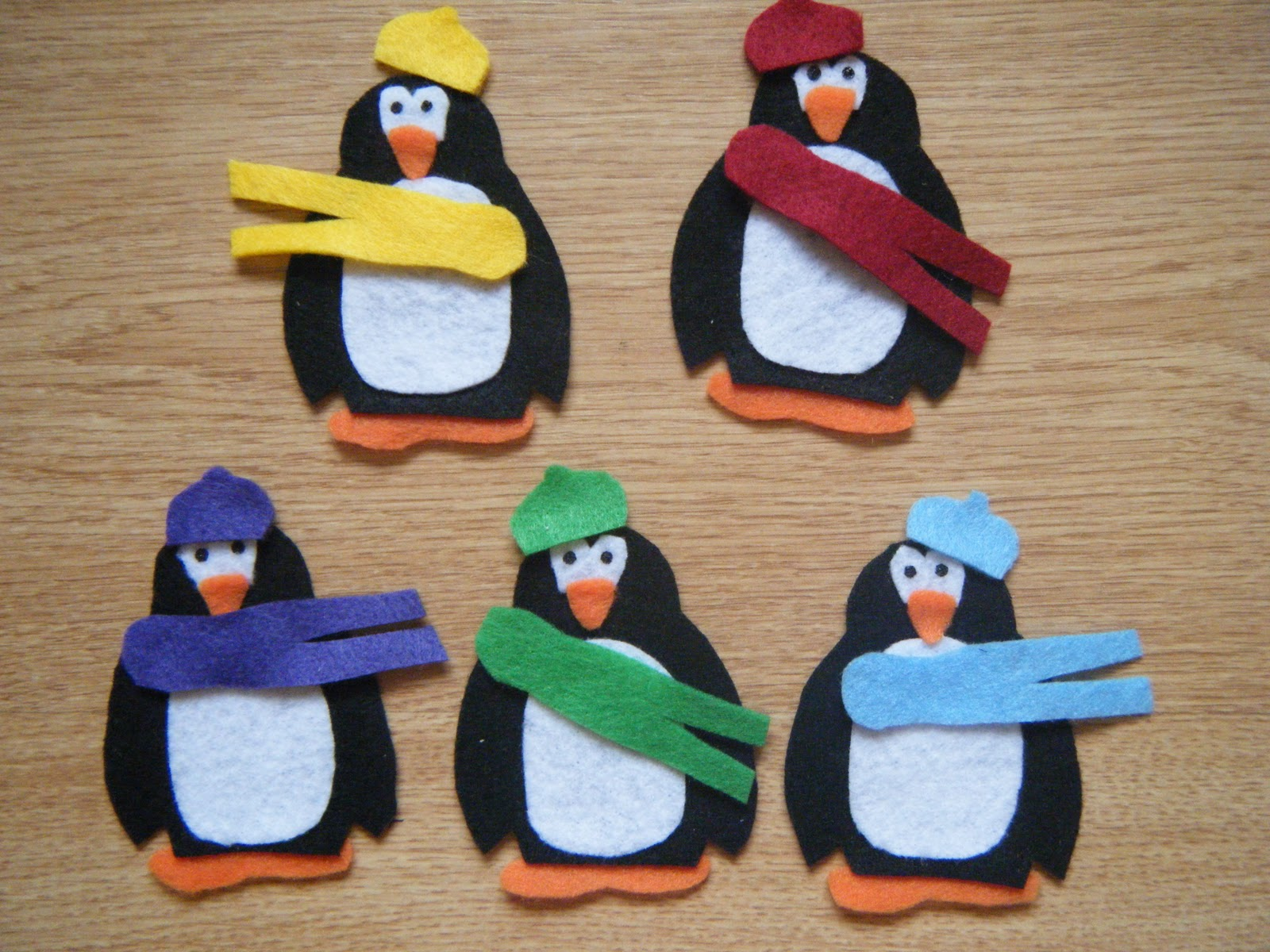 Felt Board Ideas Felt Board Winter Activities Matching Colors