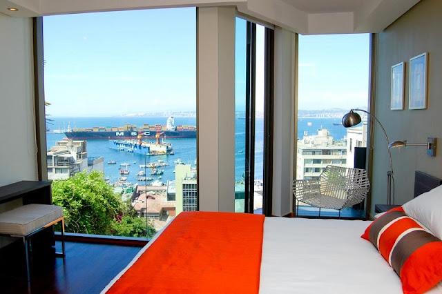 Hotéis no centro turístico de Valparaíso