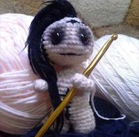 muñeca de diseño de stefania irmangard souza