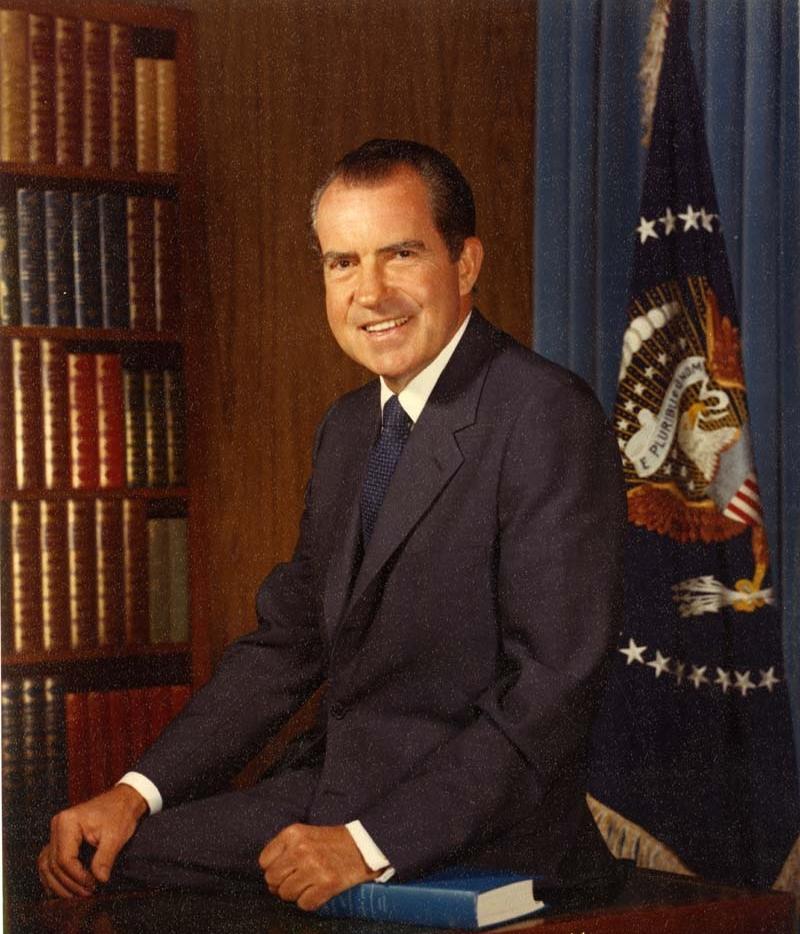 Richard Nixon In Color: Armand's Rancho Del Cielo: Richard Nixon Centennial