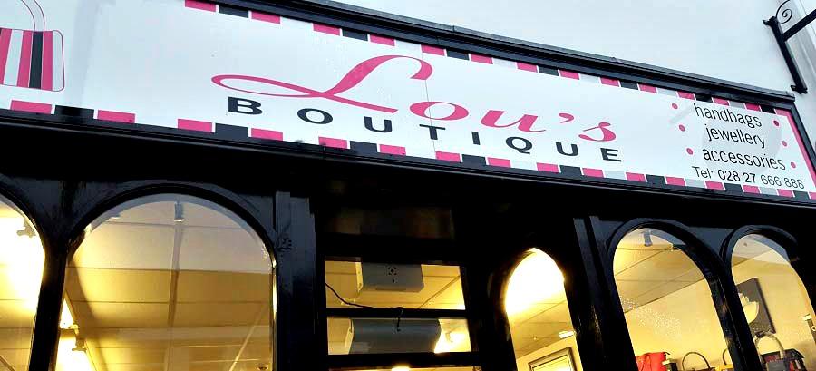 Lous Boutique, Shop Ballymoney, Buy Local