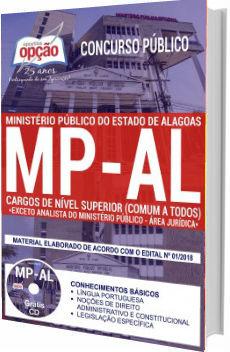 Apostila MP-AL 2018 Cargos de Nível Superior