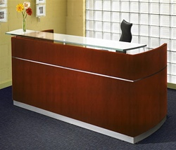 Rectangular Reception Desk