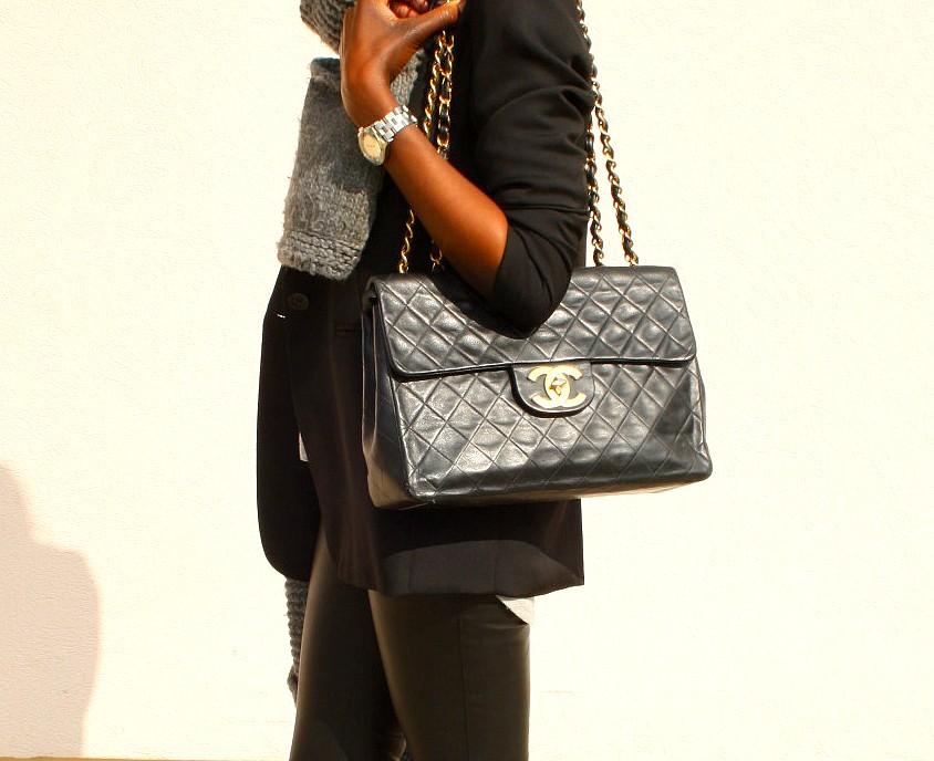 Chanel-maxi-jumbo-vintage