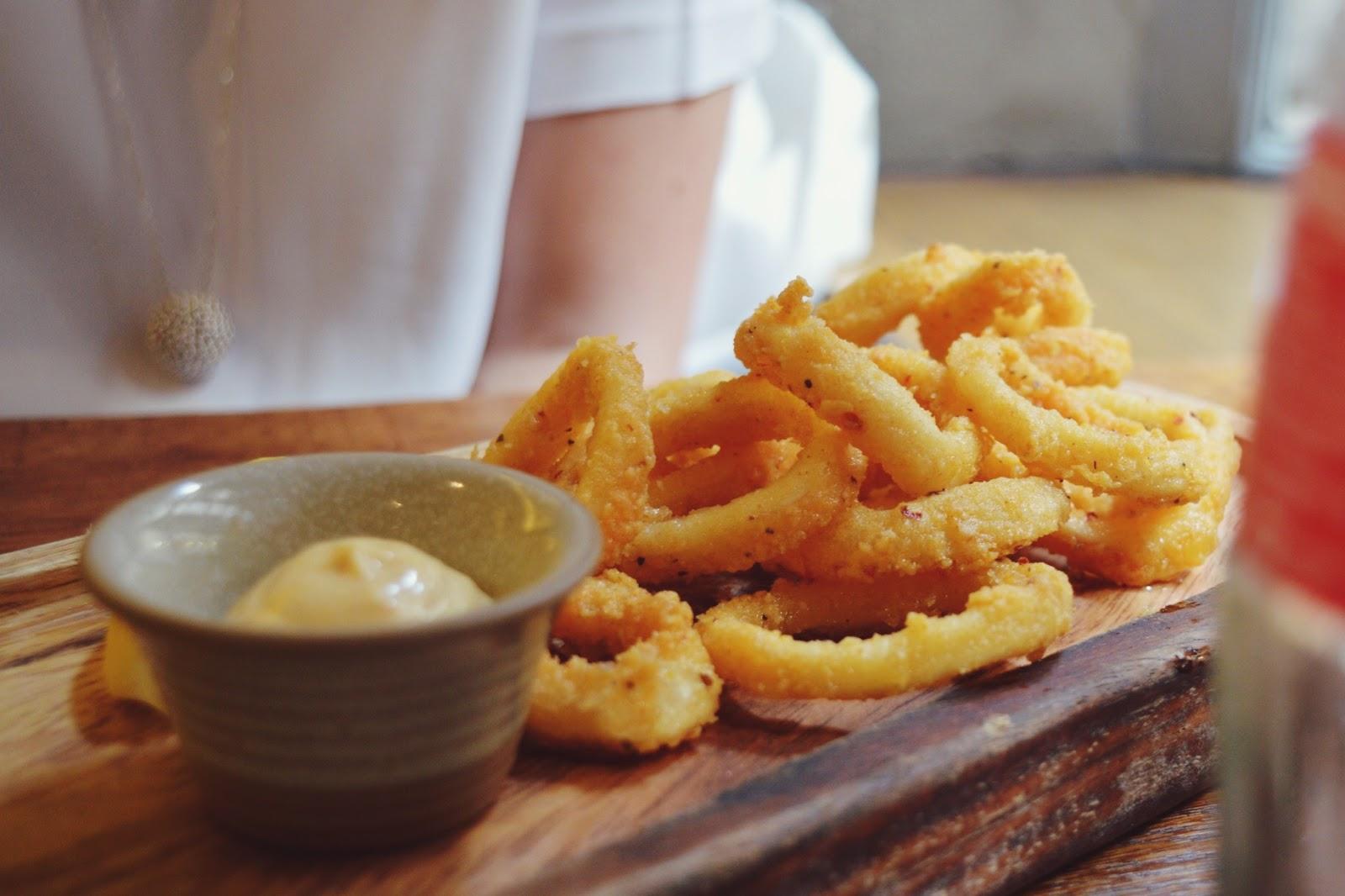 Wildwood Salisbury review, FashionFake, UK food blogs, calamari