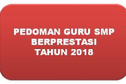 PEDOMAN GURU BERPRESTASI SMP 2018
