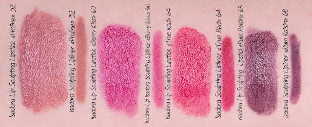 Isadora Lip Desire Sculpting Lipstick отзывы