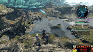 Scenery of Primordia from Xenoblade Chronicles X.