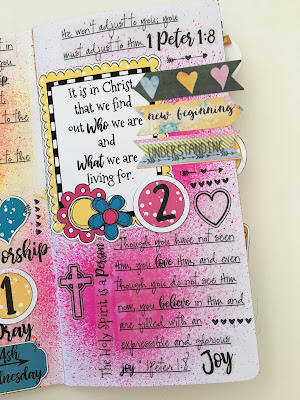 Lent 2018 Day 2 with Lynn at Lot95Designs
