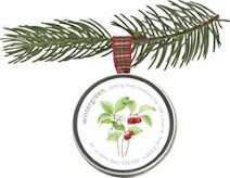 Holiday Ornament - Wintergreen