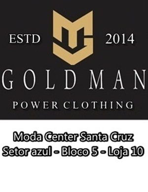 GOLD MAN - POWER CLOTHING