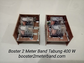 Switching TX RX Boster 2 Meter Band Tabung