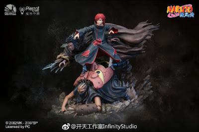 """Sasori 1/6 de """"Naruto Shippuden"""" - Infinity Studio"""
