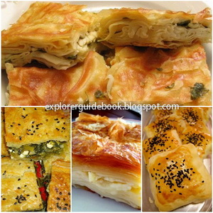 Makanan Khas Turki Istambul Borek