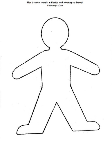 Where can i find a flat stanley template yahoo answers for Free printable flat stanley template