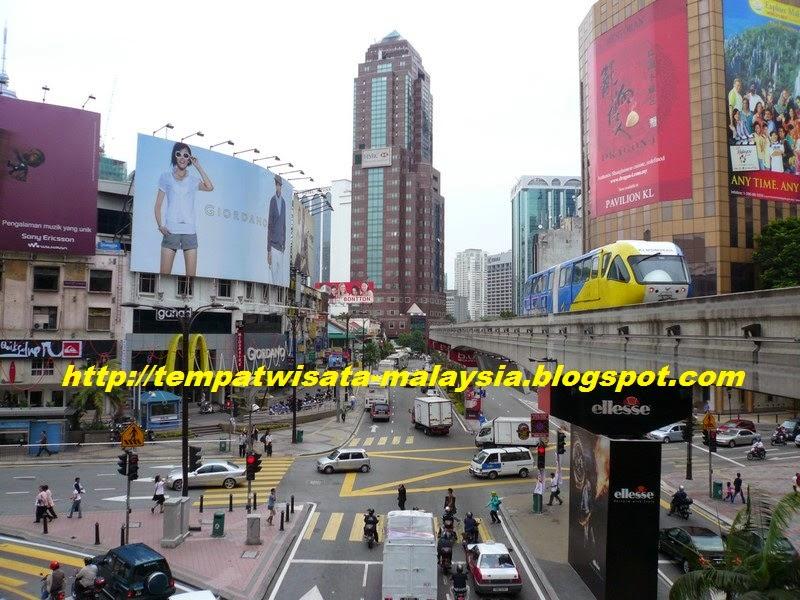 Wisata Bukit Bintang Kuala Lumpur Tempat Wisata Malaysia