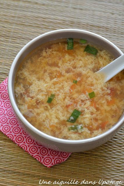 recette de soupe chinoise Ken Hom