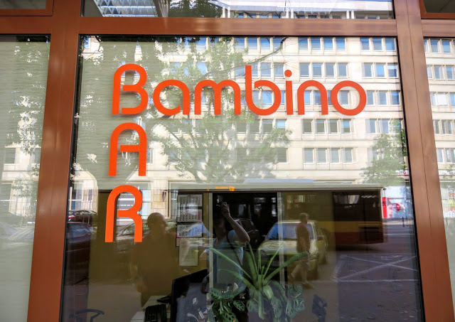 Bambino Bar milk bar in Warsaw, Poland