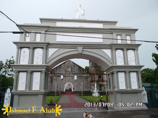 The gate of Peter in Vinzons, Camarines Norte