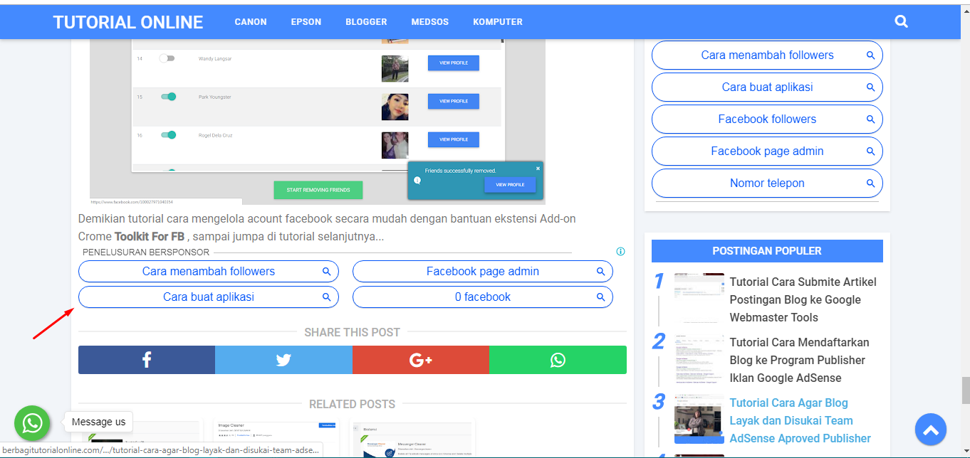 AdSense Type Link Ads