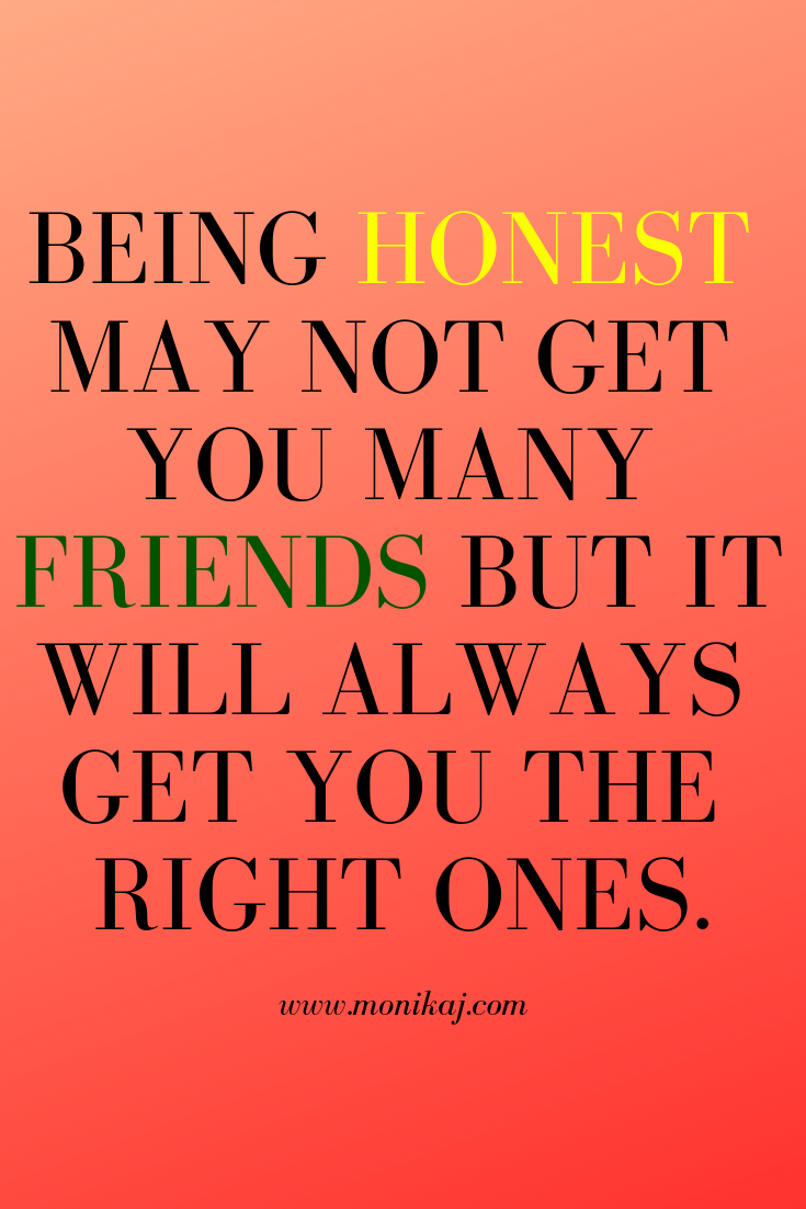 Inspirational Quotes On Honesty