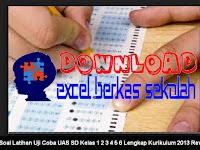 Soal Latihan Uji Coba UAS SD Kelas 1 2 3 4 5 6 Lengkap Semua Mata Pelajaran