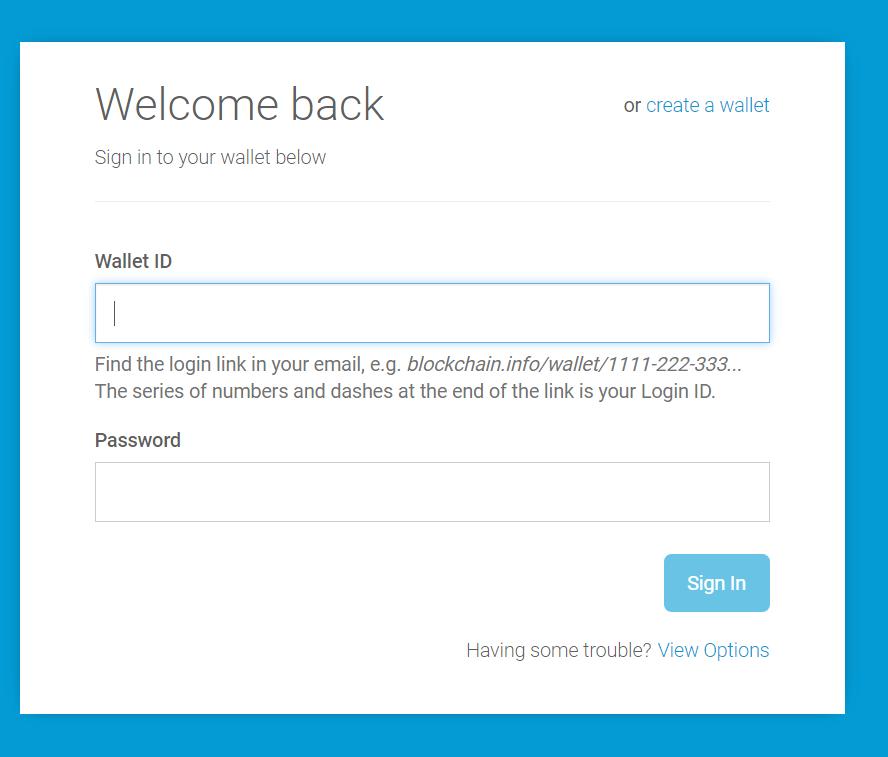 bitcoin login my account)