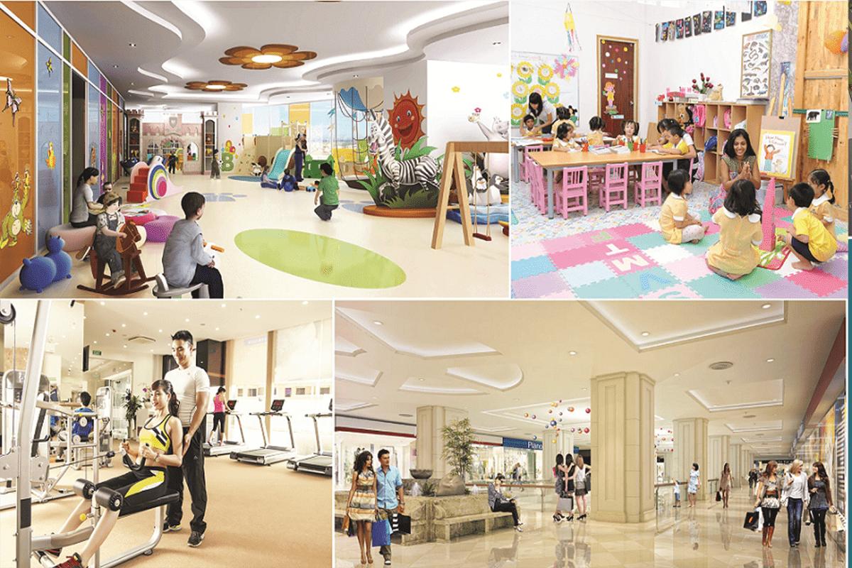 Tiện ích dự án Hope Residence Phúc Đồng