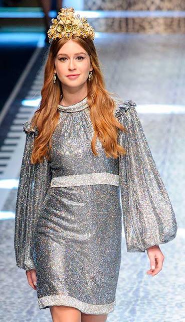 Desfile da Dolce Gabbana com Marina Ruy Barbosa