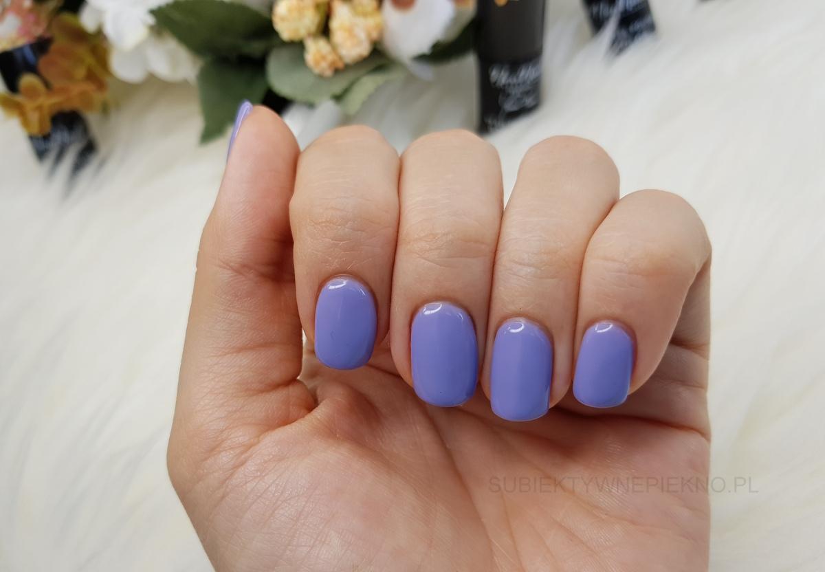 Lakier hybrydowy Berrylicious NeoNail swatche na paznokciach| Delicious by Joanna Krupa