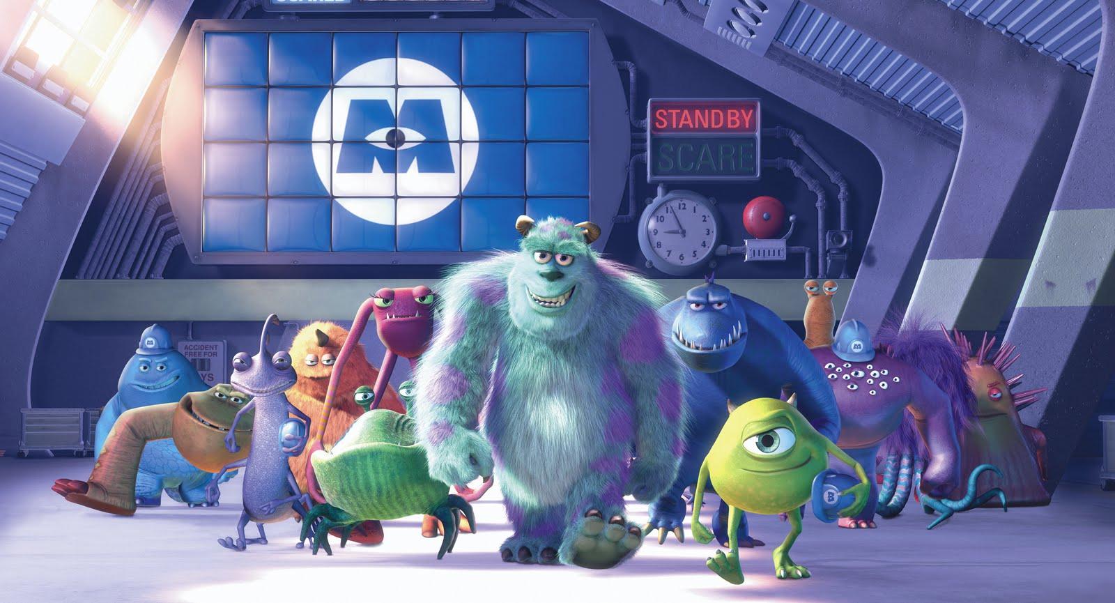 Resultado de imagem para monstros sa pixar