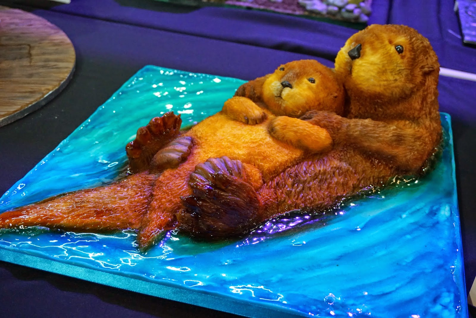 Cake International Show Manchester 2015 Otter Cake