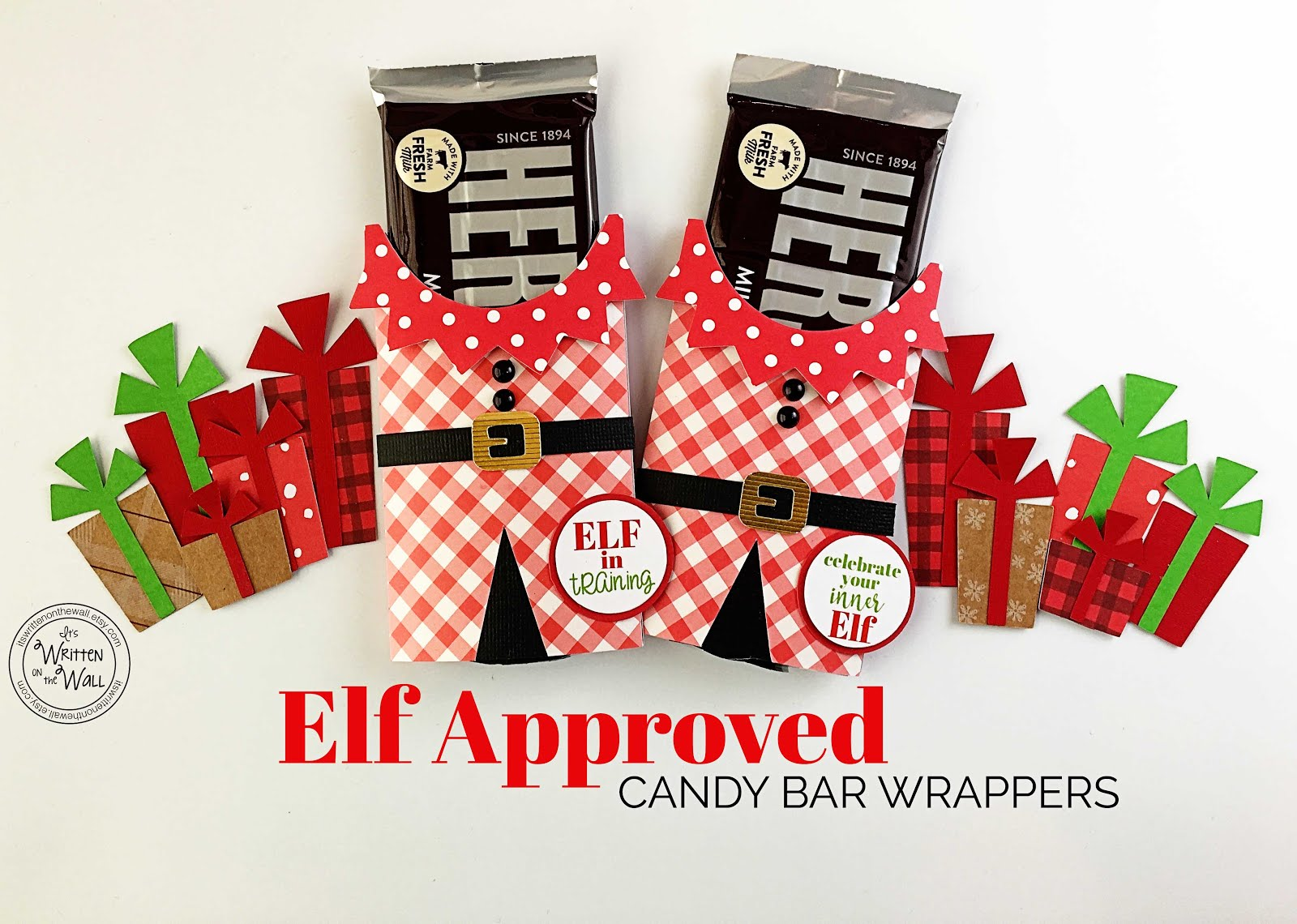 Santa's Favorite Elf Candy Bar Wraps