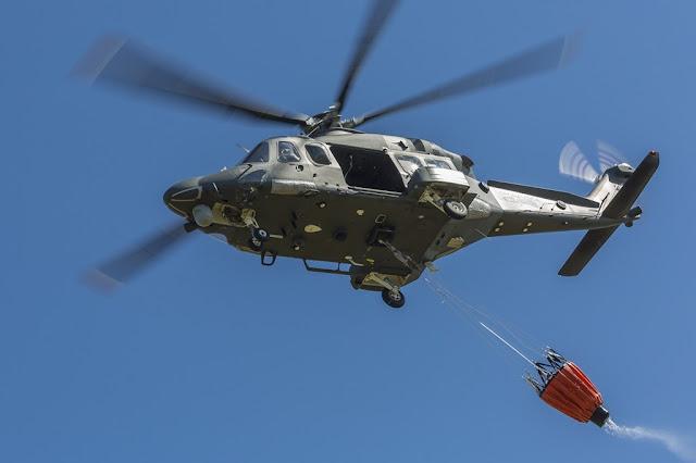 Elicotteri Aeronautica lotta incendi Sicilia