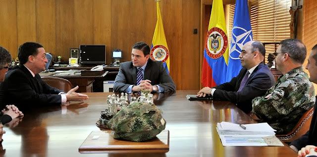 Resultado de imagen para OTAN EN COLOMBIA