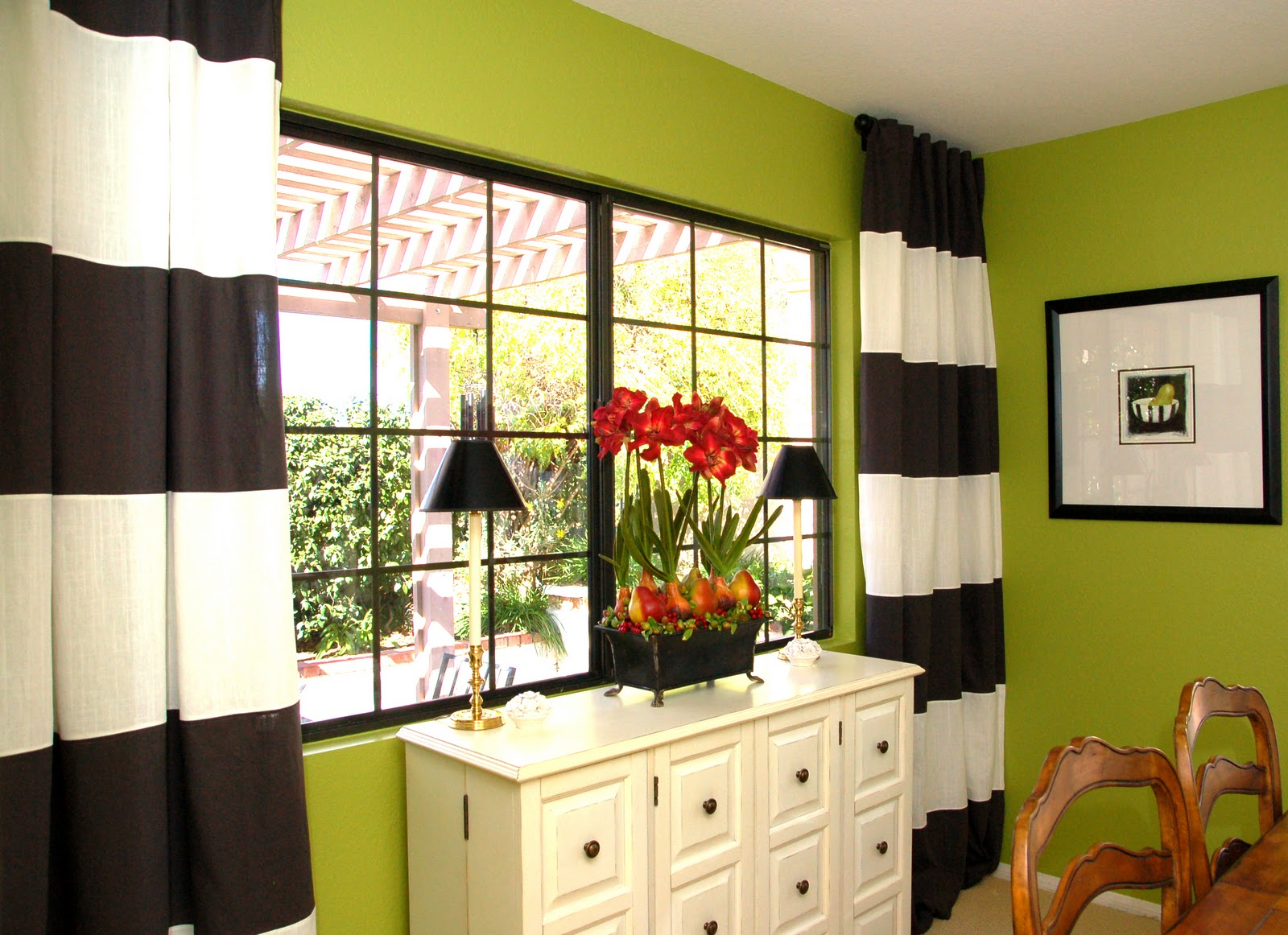 Curtain For Green Wall | Home design ideas