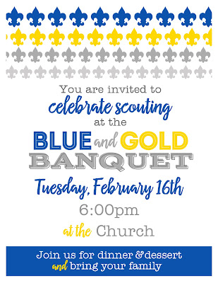 Kelli nicholls designs for Cub scout blue and gold program template