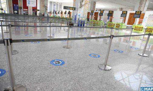 مطار فاس سايس يعزز تدابير السلامة الصحية في أفق استئناف نشاطه