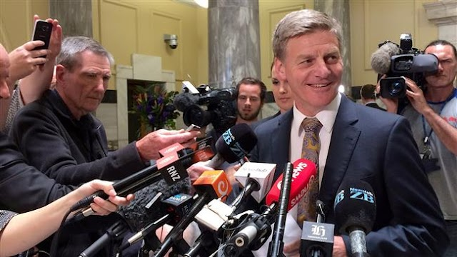 Bill English elected, sworn in as prime minister of New Zealand