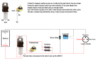 Random How To Diy How To Make A Burning Laser The Right Way! Now - Wiring Diagram