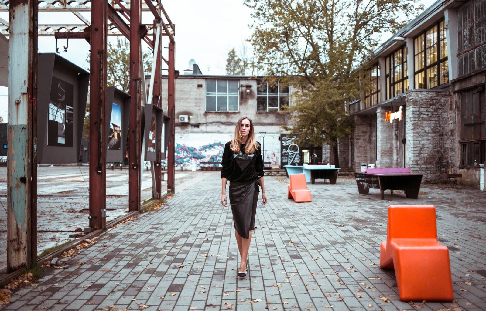 tallinn fashion week street style