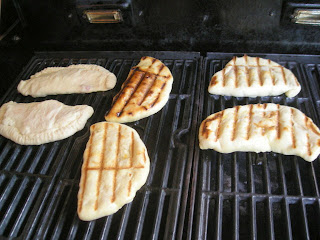 empanadas on the grill