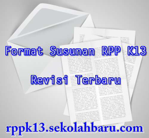 Susunan RPP K13