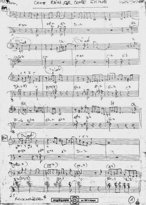 my song sheet music keith jarrett pdf my first jugem