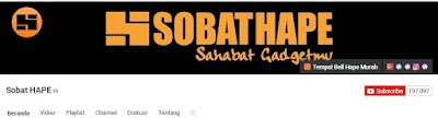 channel youtube sobathape
